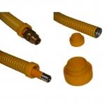 Заглушки, защита для гофрированных труб